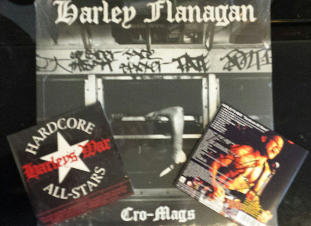 For a limited time order signed ‪#‎Cromags‬ LP & recieve a signed limited edition Japanese import Harley's War CD